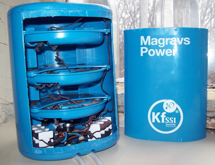 Magrav Power System von Keshe Foundation